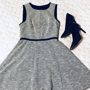 TIBI Sleeveless High-Waisted Static Mini Dress | 0